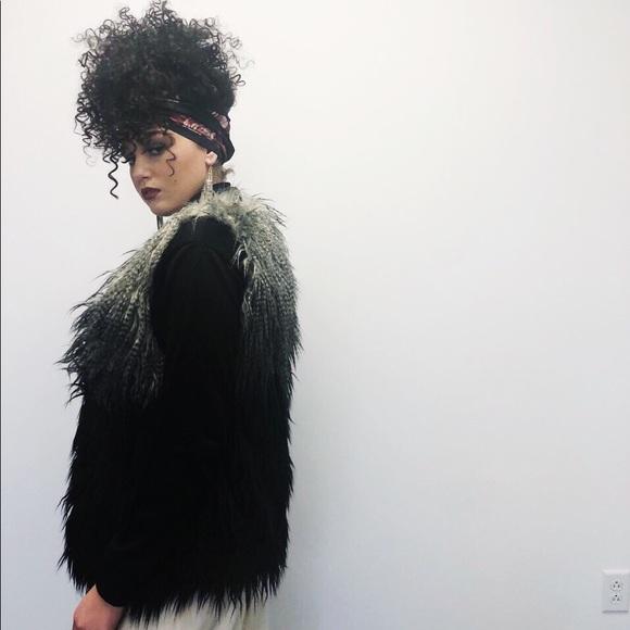 Jackets & Blazers - Ombre Faux Fur Vest - Amazing!